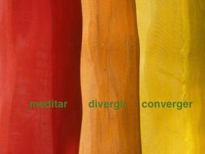 meditar divergir converger